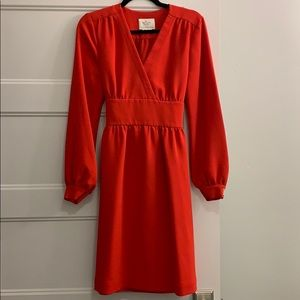 KATE SPADE Red Tie Back Dress 🎀
